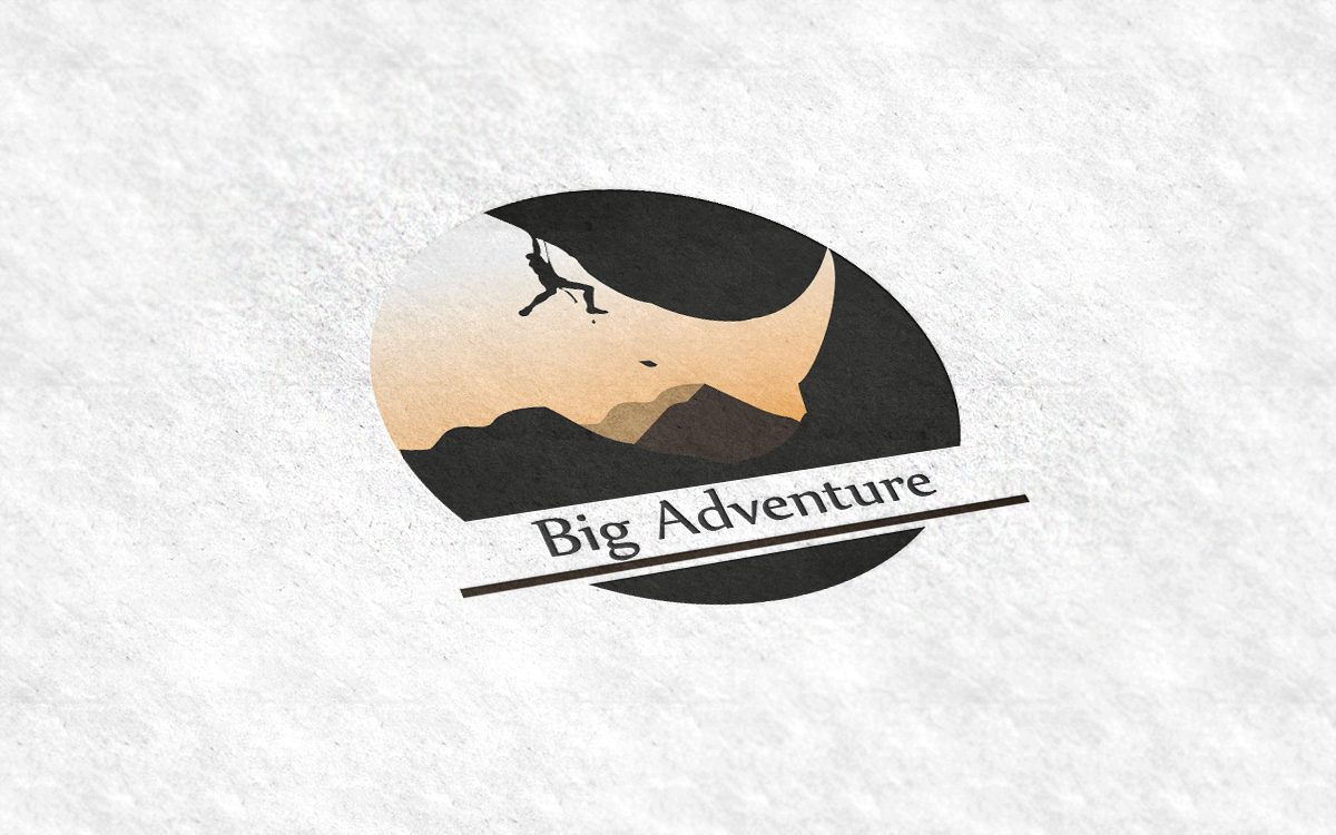 rhino logo  adventure