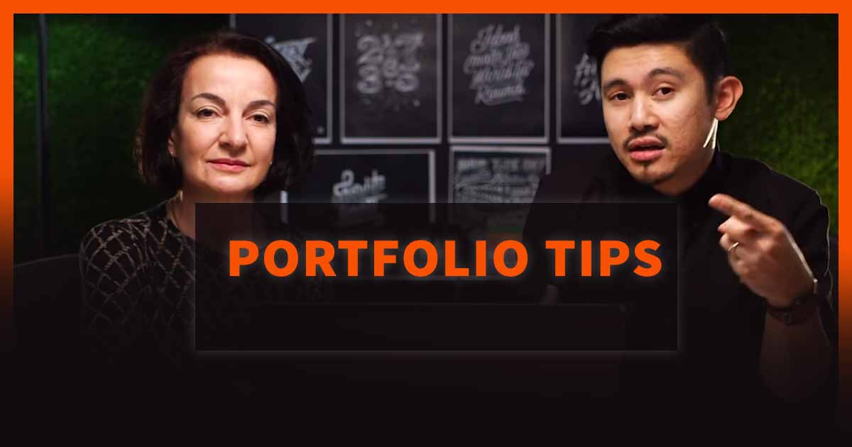 portfolio tips for designs