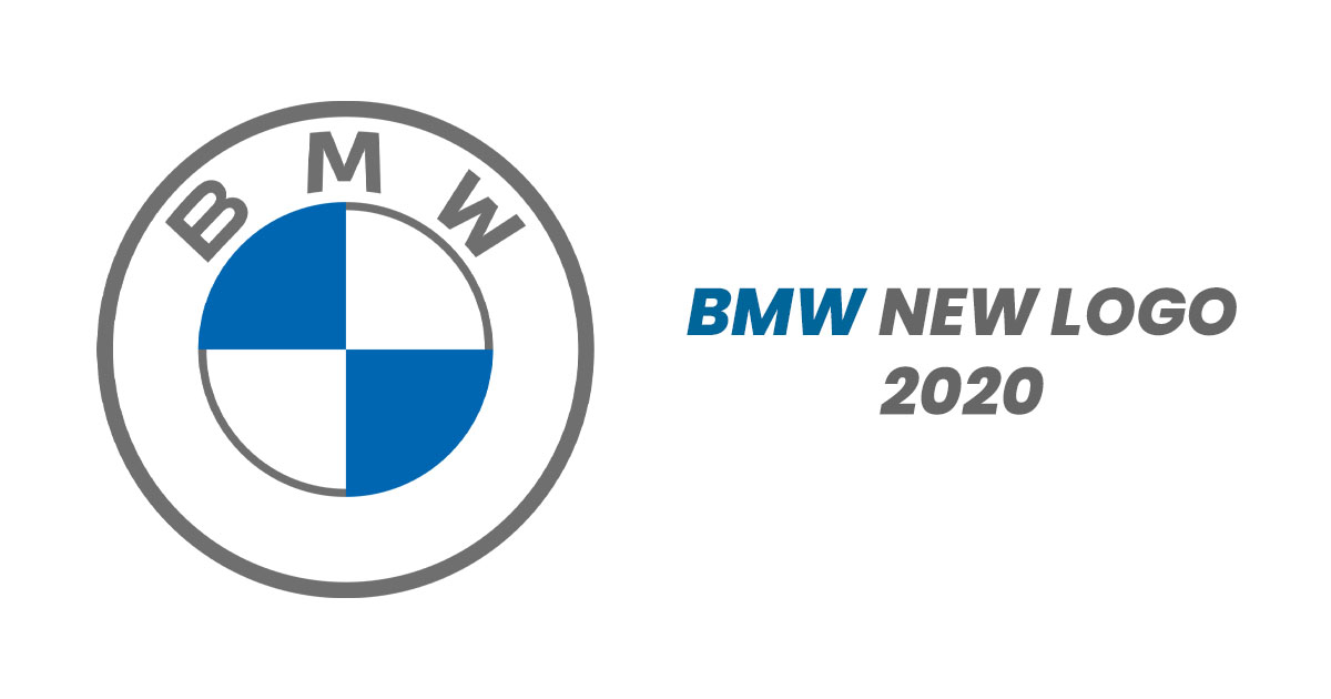 bmw new logo